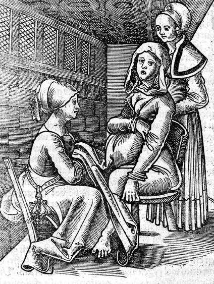 Twee verwaressen helpen bij de bevalling