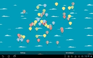 Screenshot of Hot Balloon - Live! Wallpaper