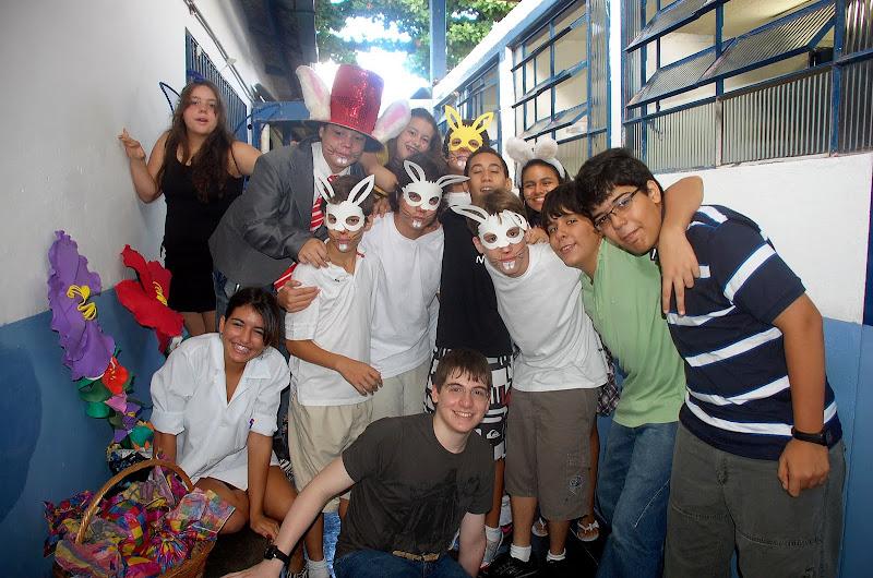 Apresentação na Escola Waldeny de Almeida 2010 – Unidade 1
