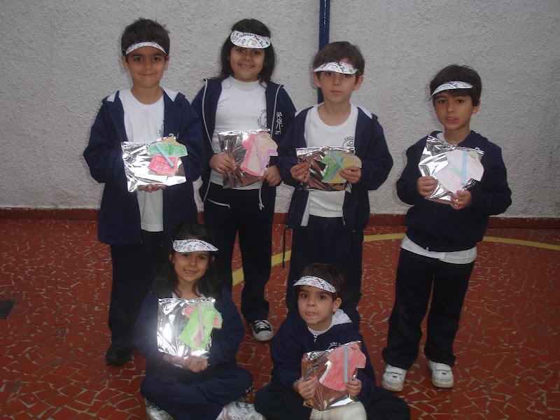 Lembranças de Dia dos Pais 2010 – Unidade 2 Educação Infantil