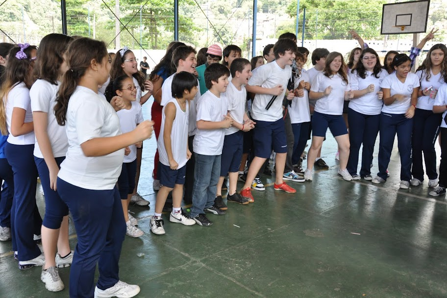 Atividades de comemoração do 44° Aniversário da Escola, Gincana da Criança – 2010