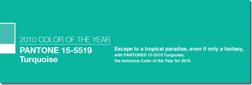 pantone turquoise