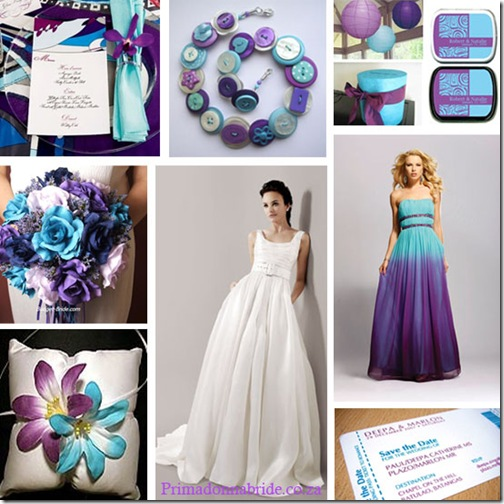 wedding colour schemes for summer