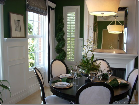 green dr maison classique