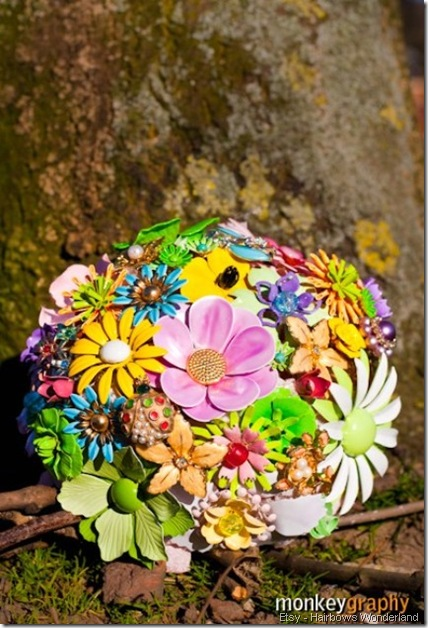 bouquet etsy hairbowswonderworld