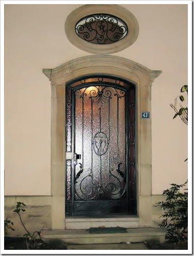 wrought iron door lux