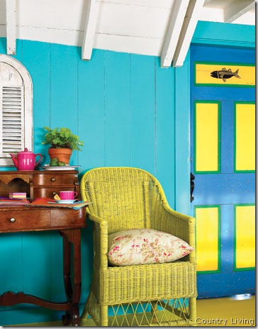 turquoise-room- country living