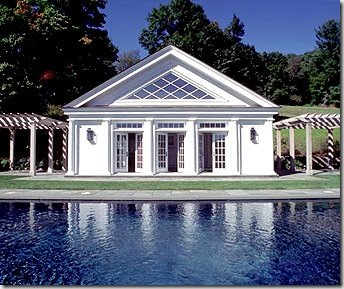 poolhouse willow decor