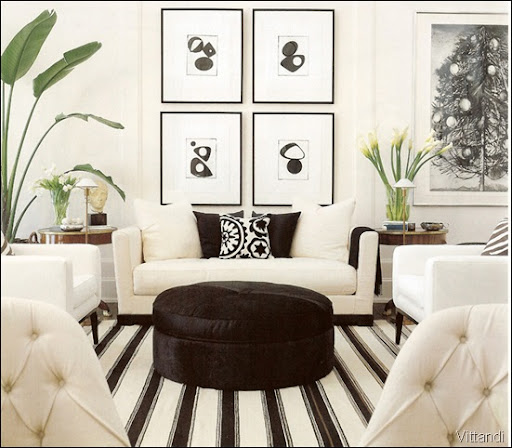 Black and White Home Design Ideas
