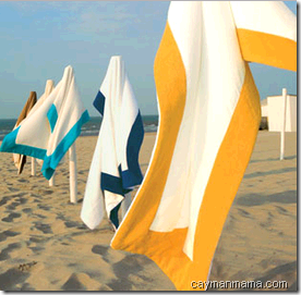 towels caymanmama