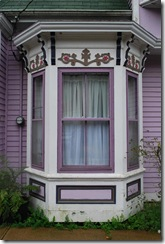 mauve bay window