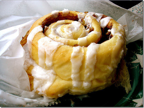 cinnamon bun flickr