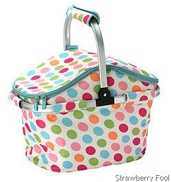 picnic basket strawberry fool