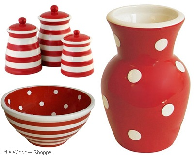 polka-dot-red little window shoppe