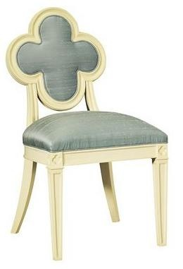 quatrefoil alexandra side chair suzanne kasler hickory chair