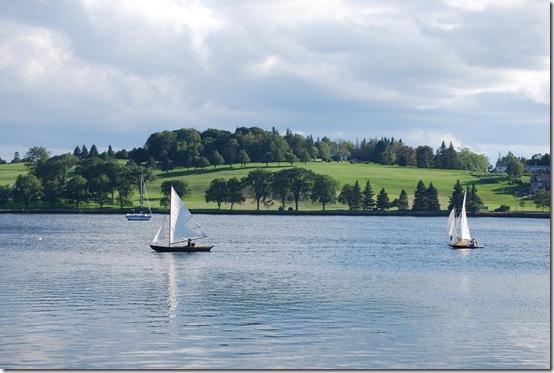 lunenburg harbour sailboats RS