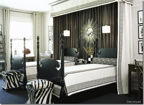 zebra stools bedroom decorpad