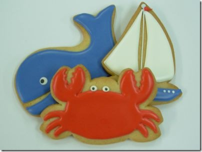 crab-whale-sailboat-cookies a dozen eggs