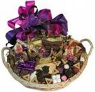 traditional Purim gift basket
