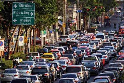 ازدحام في بانكوك