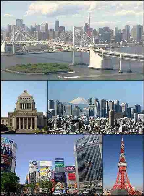 معالم اليابان