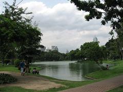 حديقة في بانكوك