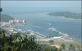 تقرير مصور عن مدينة لوموت الساحلية فى ماليزيا 2014 Lumut malaysia