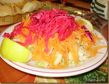 Salad Turki