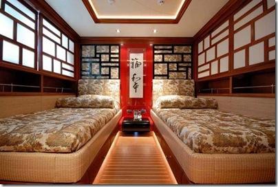 Os  interiores de luxuosos iates 27