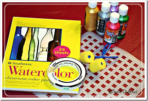 preschool art supplies