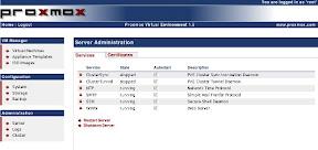 Listado de servicios (clic para agrandar)