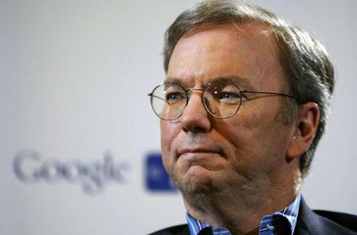 Eric Schmidt, presidente de Google en mayo 2010 SIPA/Paul Sakuma