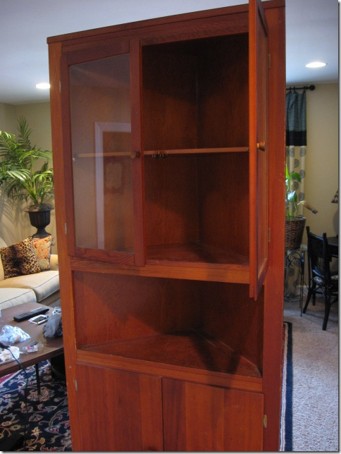 Cabinet at home