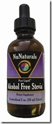 Liquid Alcohol Free Stevia