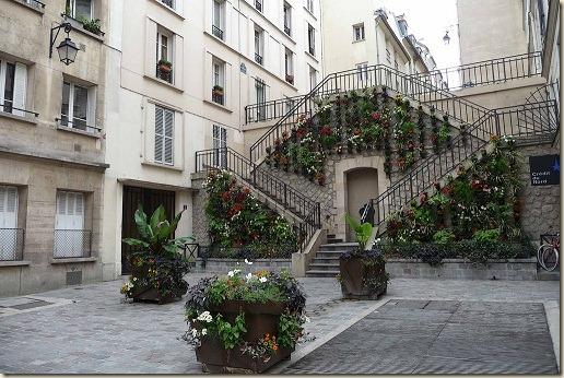 Les escaliers de la rue Rollin