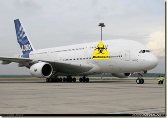 biohazard plane