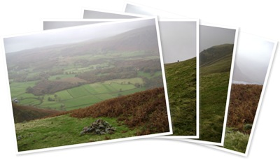 View The view from half way up the Screes