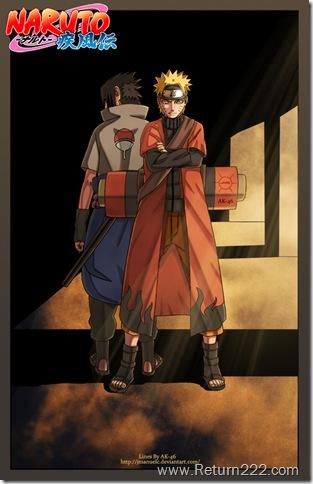 Naruto_And_Sasuke_Shippuden_by_KyleSasuke