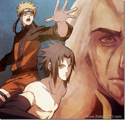 Naruto_and_Sasuke_by_RenosGirl