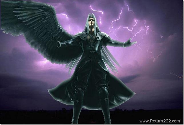 Sephiroth_casting_Thundaga_by_uchihabankai
