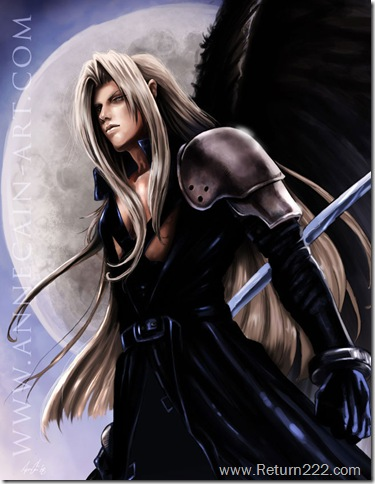 Sephiroth_by_annecain