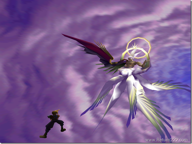 Cloud vs. Safer-Sephiroth