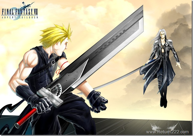 Cloud_VS__Sephiroth___FF_AC_by_SLO_MO