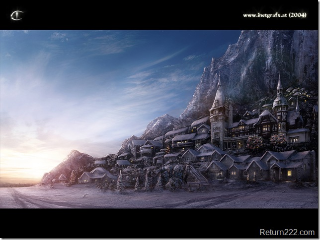 Environment__Winter_Village_by_I_NetGraFX