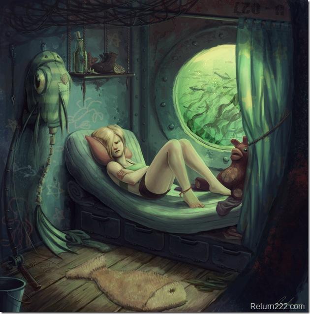 Fishgirl__s_Berth_by_SnakeToast