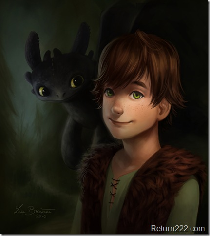 Hiccup_and_Toothless_by_Zippora