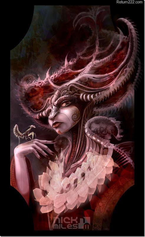 mantis_queen_by_exullium-d2ypxta