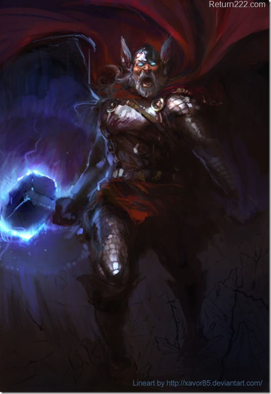 Thor_painted_by_agnidevi