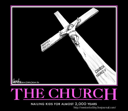 kids raped by the catholic church cartoon