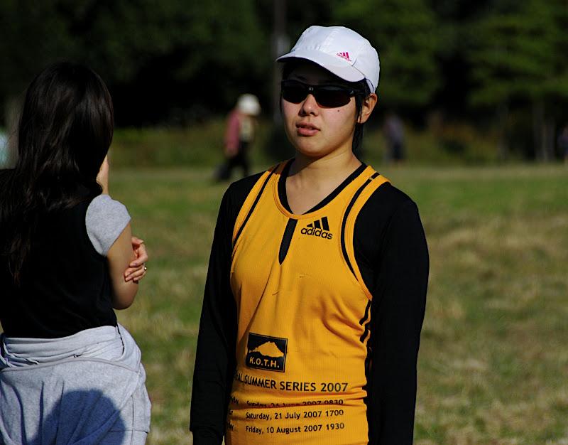 Senco wears last year's winner's jersey